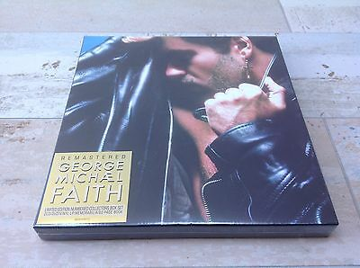 GEORGE MICHAEL FAITH COLLECTORS EDITION NUMBERED BOX SET SEALED 2CD DVD LP  Wham