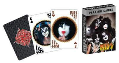 Jeu de cartes - KISS - Poker size - 52 cartes
