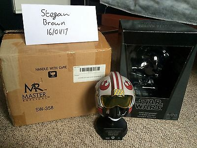 Star Wars Master Replicas Luke Skywalker X-Wing helmet .45 scaled