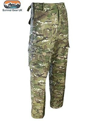 Quality Mens Army Military Combat TrousersCamo Pants Airsoft Work Cargo BTP