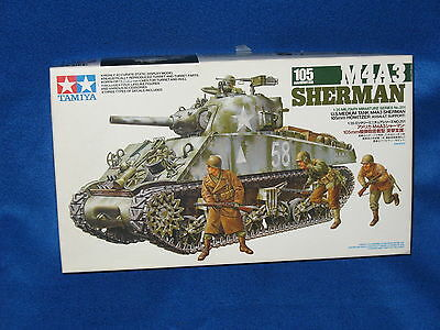 1/35 - Tamiya 35251 - Sherman M4A3 105 mm assault support  - kit - maquette