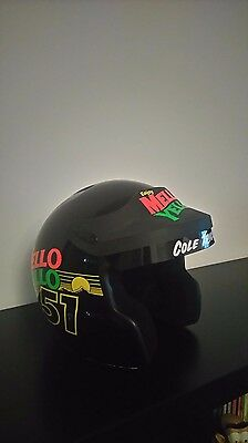 Days Of Thunder Cole Trickle Movie Prop Nascar Stock Car Helmet