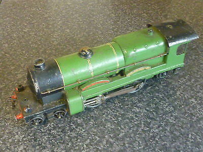 Hornby Trains O Guage Early Electric 4-4-2 Lord Nelson Loco Green With Lamps