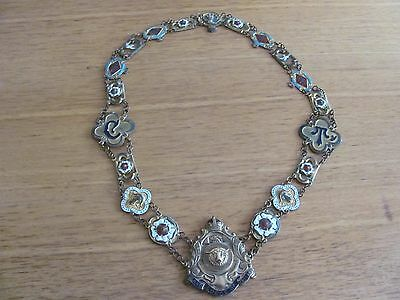 Vintage Grand Lodge of England chain of office