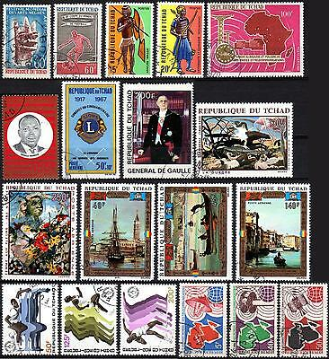 Tchad - Used Stamps