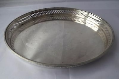 silver plated tray