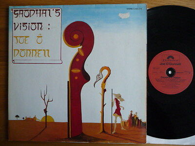 """Joe O'Donnell – Gaodhal's Vision LP  """"VG+"""" Polydor – 2460 274 Germany 1977"""