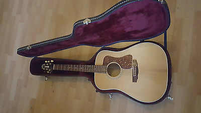 Guild D30e USA 1994 electro acoustic guitar and original case