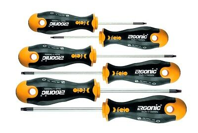 Felo 408 961 48 Screwdriver Set Torx® Ergonic® 6-Piece Made in Germany