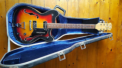 Burns-Baldwin GB66 archtop guitar UK made in 1966