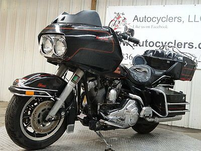 1990 Harley-Davidson Touring  1990 HARLEY DAVIDSON TOUR GLIDE CLASSIC FLTC SALVAGE CHEAP BUY IT NOW