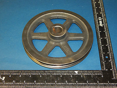 """Browning BK80S Single V-Groove Pulley Sheave 1"""" Bore (1.25)1-1/4"""" Keyway"""