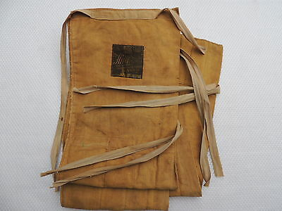 Vintage Hardy 4 Section Salmon Fly Fishing Rod Bag....Split cane.