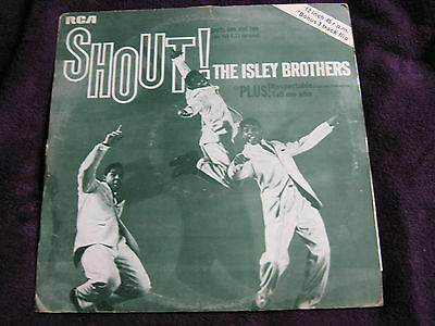 The Isley Brothers. Shout! (Rare 3 Track 45 R.p.m 12 Inch)