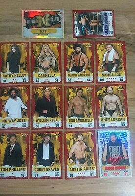 slam attax wwe trading cards