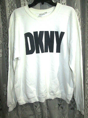 Vintage Dkny Jeans Donna Karan New York Sweater Shirt Made In Usa