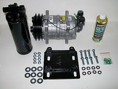 FREIGHTLINER YORK TO Sanden A/C AC Two Groove Compressor Conversion Kit