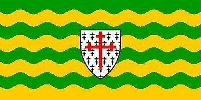 Donegal County 3 x 5' Banner Ireland Flag 90cm x 150cm