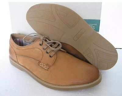New *Clarks* (size Uk 7) Mens Fuse Walk Tan Leather Casual Shoes (EU 41)