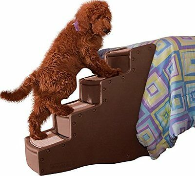4 Step Pet Easy Climb Stairs Cats Small Large Dogs 150 Pounds Wider Deeper High