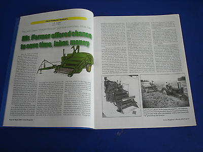 JOHN DEERE GREEN MAGAZINE PULL-TYPE COMBINES 1939-61; PLOWS, Part 4 March 2002