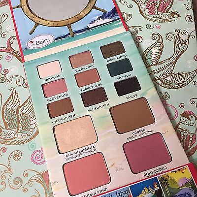 The Balm Voyage Holiday Face Palette Vol 2. Only Swatched. 100% Genuine