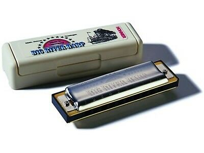 Hohner Big River Harp 590 Key Of D Diatonic 10-Hole Modular System Harmonica