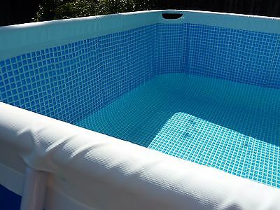 "Intex 20' X 10' X 52"" Above Ground Rectangular Frame Pool Liner"