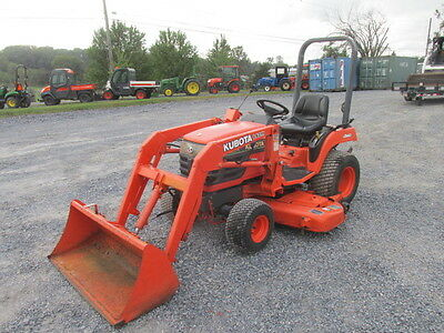 2003 Kubota BX2200 4X4 Hydro Compact Tractor w/ Loader!