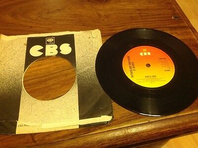 """Sutherland Brothers and Quiver Arms of Mary 7"""" vinyl single 1970s"""