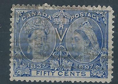 Canada 1897 SG134 50ct Queen Victoria Jubilee definitives used