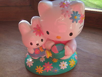 Sanrio Hello Kitty Pottery Money Box ( I don't think its ever been used) 18cm H