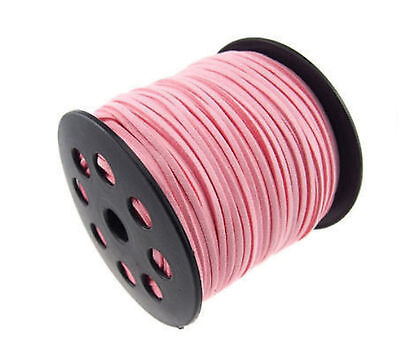 wholesale 10yd 3mm Suede Leather String Jewelry Making Thread Cords