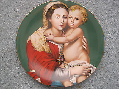 """Haviland Limoges """"Madonna and Child"""" 1975 Murillo Collector Plate! Ltd Edition"""