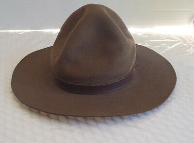 Vintage BSA Boy Scouts Leader Campaign Hat Canada