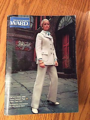 Rare Vintage 1969 Montgomery Ward Fall & Winter Catalog