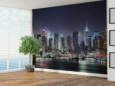 New York City skyline photo Wallpaper wall mural (7324213) Cityscape USA