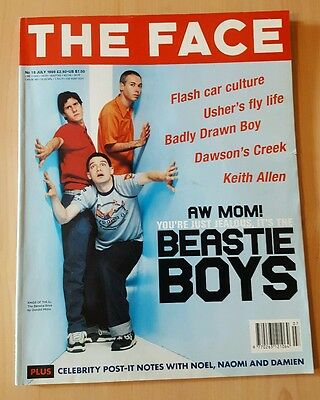 Vintage THE FACE Magazine July 1998 V3 No. 18 Beastie Boys Cover