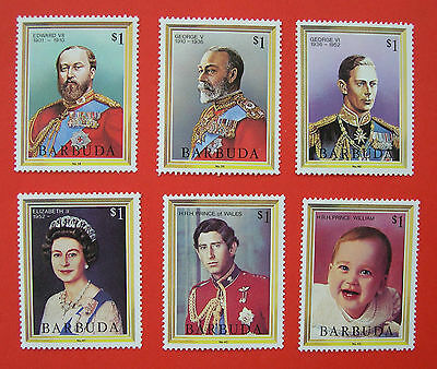 Barbuda unmounted mint / never hinged 1984 Queens and Kings England