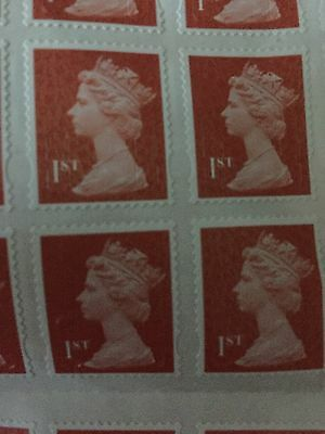 100 1st Class Stamps