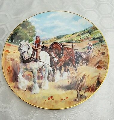 Royal Doulton collectors plate. The Noble Shires