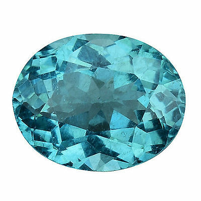 1.055Cts Amazing Luster Blue Green Natural Apatite Oval Loose Gemstones
