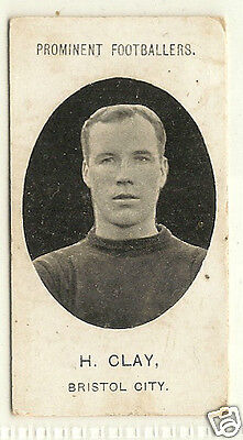TADDY - Prominent Footballers (No Footnote) - 1907 - H.Clay - Bristol City.