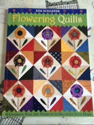 Flowering Quilts by Kim Schaefer ( 4 Scans )