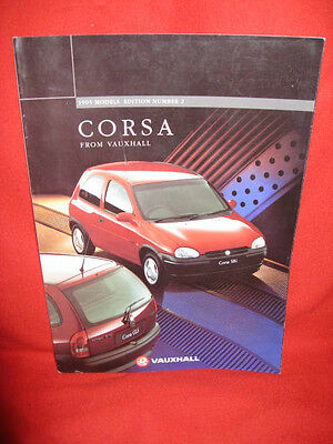 Vauxhall Corsa 1995 Models Edition 2 UK 59 Page Sales Brochure.