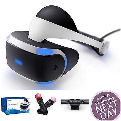 PSVR Virtual Reality Headset BRAND NEW Sony Playstation PS VR - Sealed