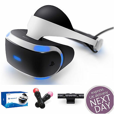 Sealed PSVR PS VR Virtual Reality Headset + Playstation Camera V2 Brand New