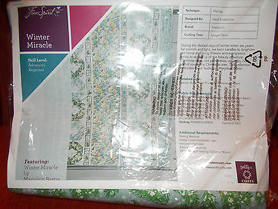 Winter Miracle Quilt kit Featuring Fabrics by Marjolein Bastin From Freespirit