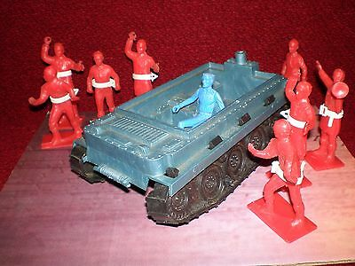 Vintage Toy Space Men and Transport