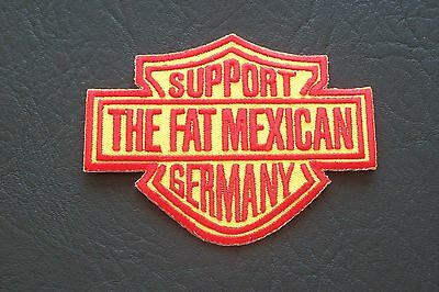 BANDIDOS MC Motorcycle Club Outlaw biker 1% support the fat mexican Patch Badge
